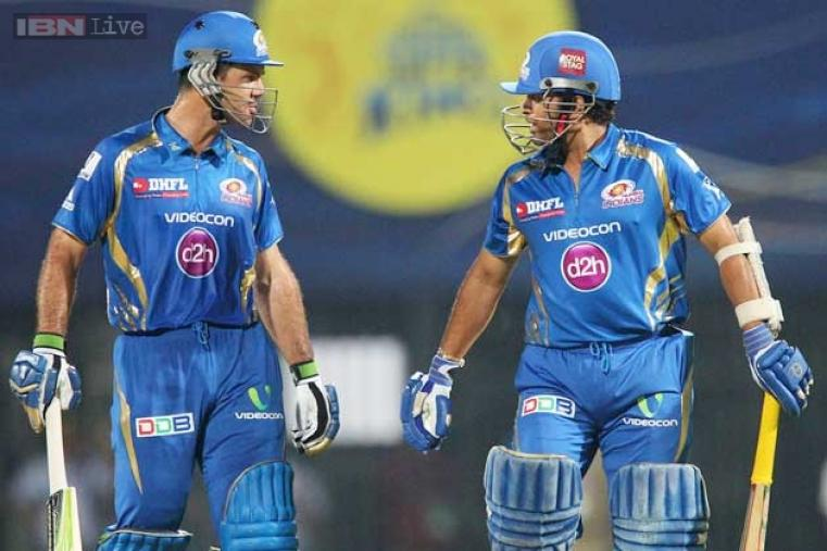 The world saw the unthinkable during IPL6, when the modern era's two greatest batsman - Sachin Tendulkar and Ricky Ponting - walked out to open the Mumbai innings. (BCCI Image)