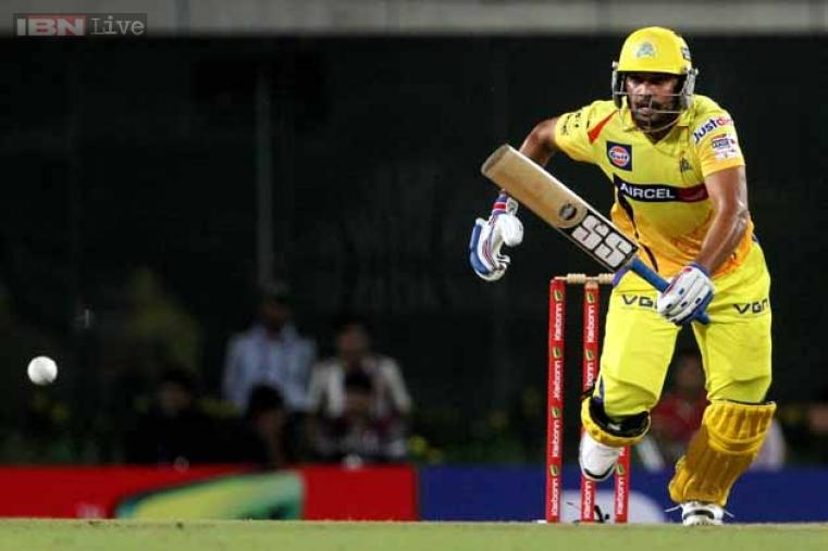 Murali Vijay, who got two ducks in his previous two outings, got off well against Heat, but could only make 42 off 27 balls before being dismissed.