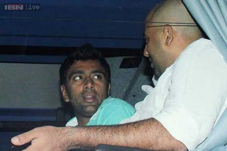Indian spinner Ravichandran Ashwin, who was a part of Tendulkar's 200th Test at Wankhede, is seen at the venue.