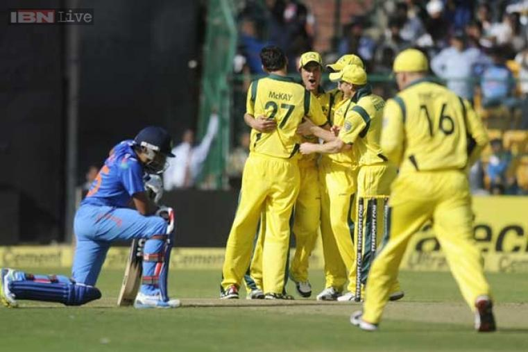 Virat Kohli was run out for a duck by Nathan Coulter-Nile. (BCCI)
