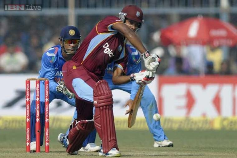West Indies opener Kieran Powell, replacing the injured Chris Gayle for the last two one-dayers, struck his second consecutive half-century with a knock of 70 runs.