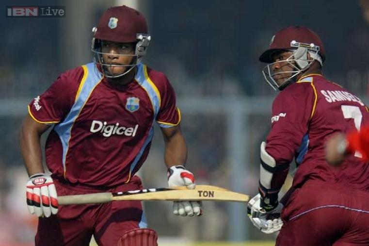 Marlon Samuels (71) and Kieran Powell (70) added 117 runs for the second wicket.