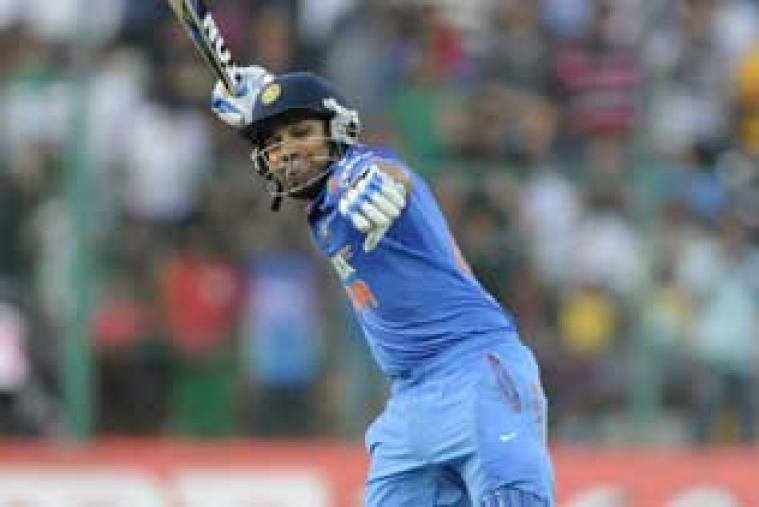 Rohit Sharma made a brilliant 209 off just 158 balls to become the third ODI batsmen to score a double hundred. (BCCI)