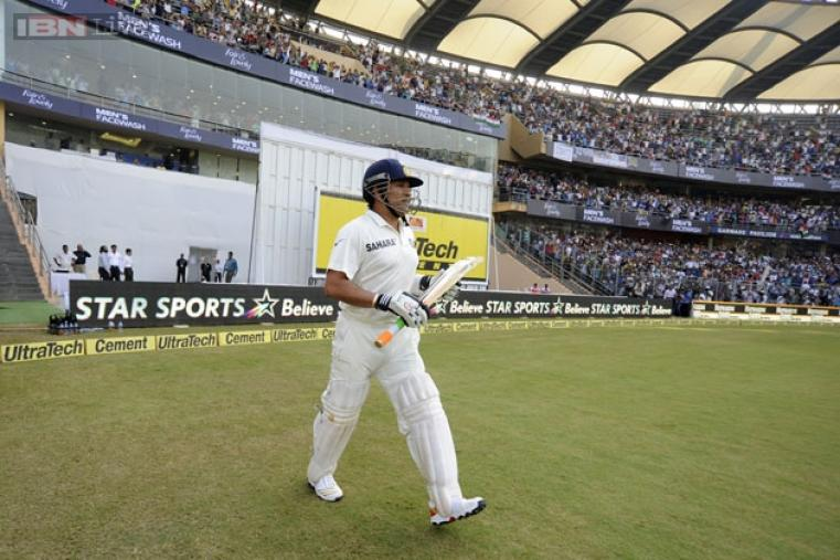 Those who chose to stay at home on day one with West Indies batting first rushed to the Wankhede after the visitors were dismissed cheaply, and the chances of getting to see Sachin bat became a reality.