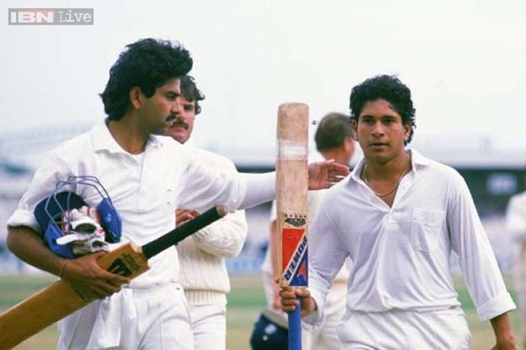 Hundred No. 1: 119 not out vs England at Old Trafford Cricket Ground, Manchester on 14 August 1990.
