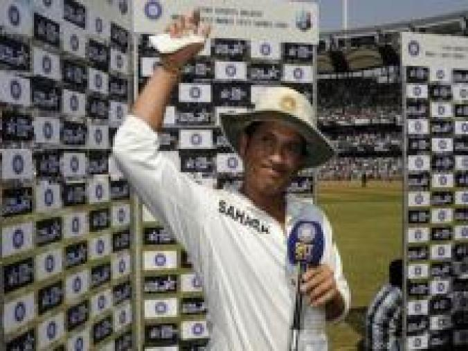 Sachin Tendulkar delivered a gut-wrenching, heart-warming speech that left the whole of India teary-eyed. (BCCI)