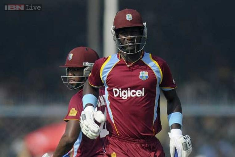 Darren Bravo (51*) and Darren Sammy (37*) provided the final flourish to take West Indies to 263 for 5 in 50 overs.