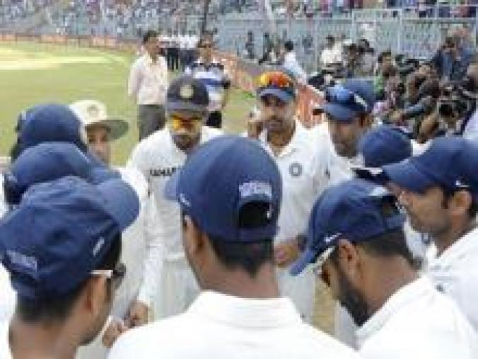 With India taking a 313-run lead and then reducing WI to 43/3 at stumps on day two, the match was likely to end on Day 3, robbing the fans of a chance to see Sachin bat in the second innings. (BCCI)