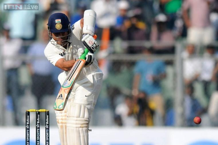 Sachin scored 38 on day one and remained not out at stumps on day one.