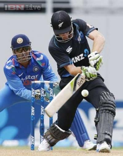 Martin Guptill was involved in a 150-plus partnership with Kane Williamson, and scored a splendid century to push New Zealand to a big total.