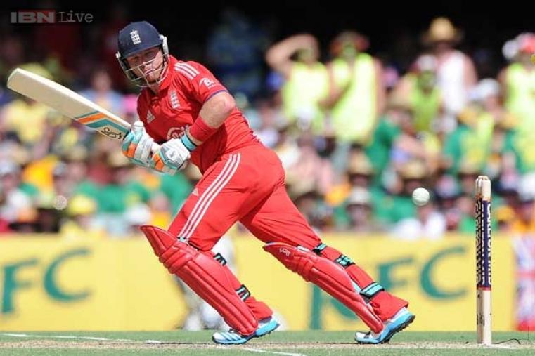 Ian Bell stitched a solid 61-run stand with Morgan before being run-out by a brilliant throw from Clarke.