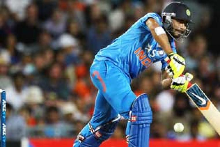 Ravindra Jadeja kept India's one-day series against New Zealand alive as the tourists took 17 off the final over to tie an epic third match in the series at Eden Park.