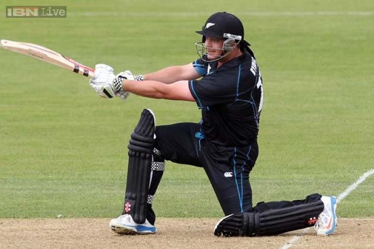 Comeback man Jesse Ryder left his troubled past behind when he slammed a 51-ball 104 in the third one-dayer against West Indies in Queenstown and will look to hit a consistent note against the Indians. (Getty Images)