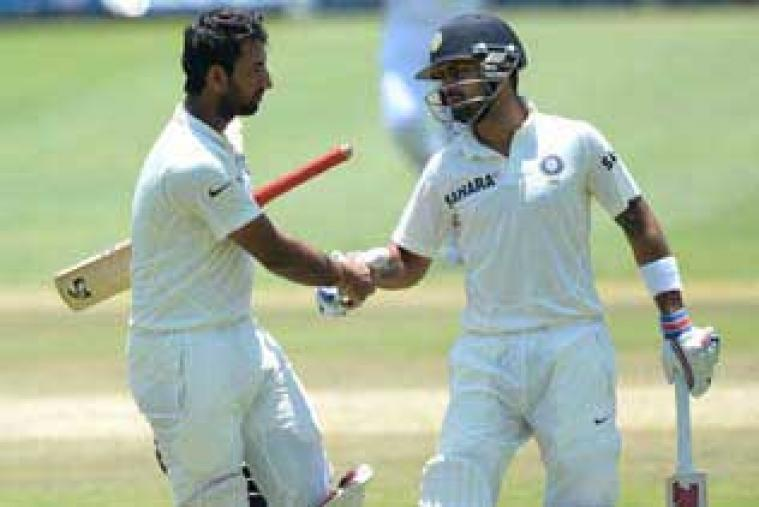 With Test centuries under their belt on the tour of South Africa, Cheteshwar Pujara and Virat Kohli would like to convert those contributions into winning knocks in New Zealand. (Getty Images)