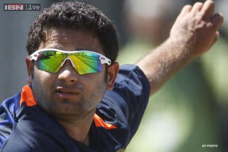 Indian leg spinner Piyush Chawla was bought by Kolkata Knight Riders for a sum of Rs. 4.25 crore. (AP Photo)