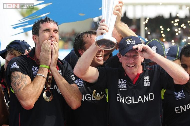 Under Paul Collingwood, England won their first ICC trophy when they beat archrivals Australia in the 2010 World Twenty20 final at the Kensington Oval in Bridgetown on May 16, 2010.