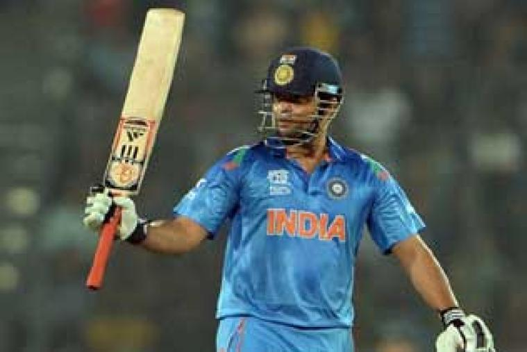 Suresh Raina scored quickfire 54 to help India revive from 39 for 3 after being put in to bat by England.