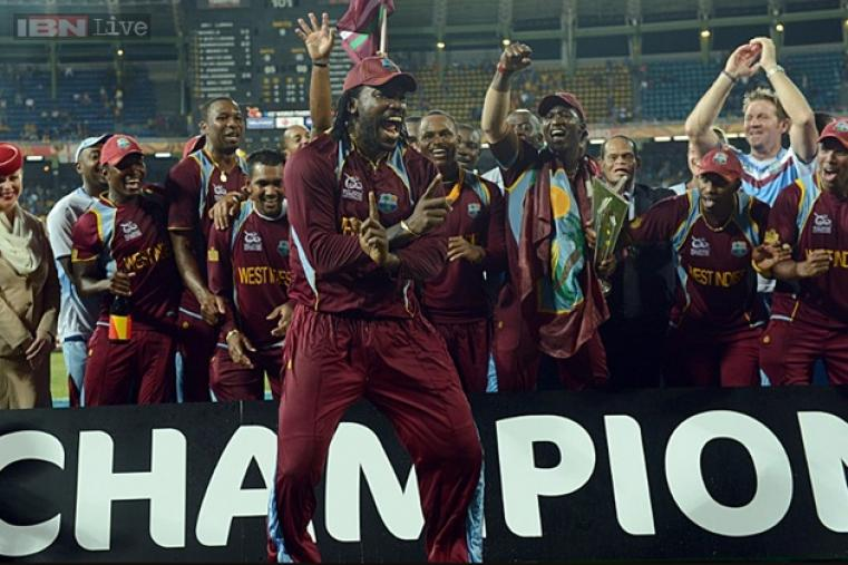 Chris Gayle sent a 'Gangnam' wave around the world with his celebratory dance after West Indies beat Sri Lanka at the Premadasa stadium in Colombo on October 7, 2012, to win the fourth edition of the tournament.