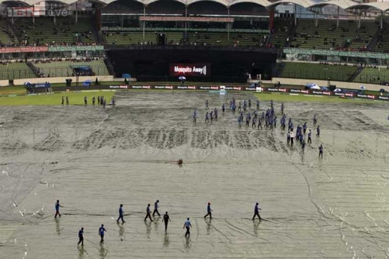 Earlier, their was a 40-minute delay in the toss due to rain at Dhaka.