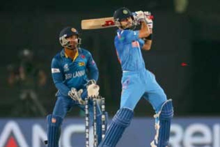 Virat Kohli scored his eighth T20I fifty after being dropped at 11 by Lasith Malinga.