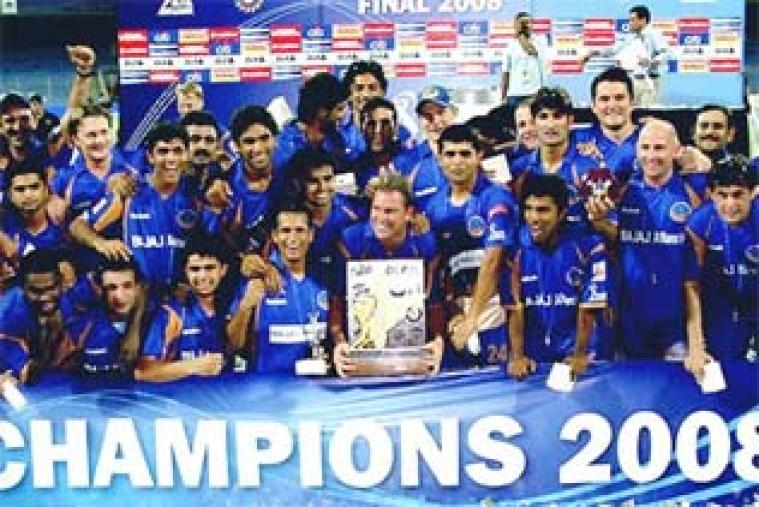 Rajasthan Royals won the inaugural Indian Premier League season in 2008. A Shane Warne-led team, riding on Yusuf Pathan's 56 off 39 balls, defeated Chennai Super Kings by three wickets in the final to lift the title.