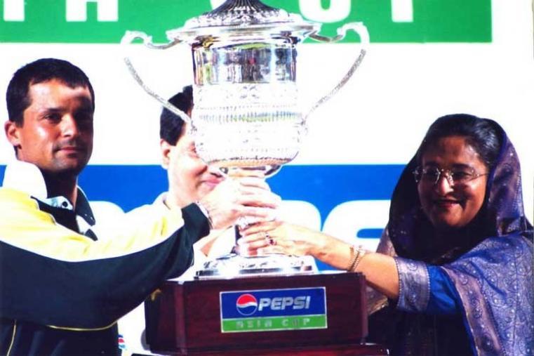 Asia Cup 2000 Final: Pakistan v Sri Lanka in Dhaka Pakistan won by 39 runs (Image Credit: Asian Cricket Council)