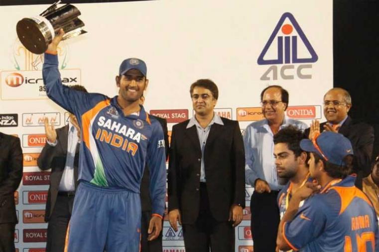 Asia Cup 2010 Final: Sri Lanka v India in Dambulla India won by 81 runs (Image Credit: Asian Cricket Council)