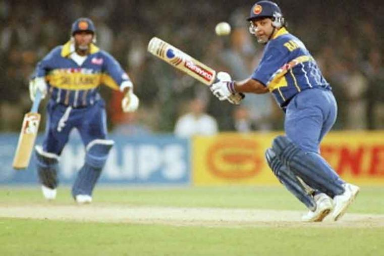 Arjuna Ranatunga scored 131* off 152 balls vs India in Colombo in 1997. Sri Lanka won by 6 wickets with 32 balls remaining. (AFP Photo)