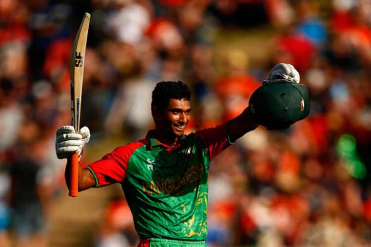Mahmudullah made his T20I debut along with Tamim and is the first Bangladeshi batsman to score a century in an ODI World Cup.