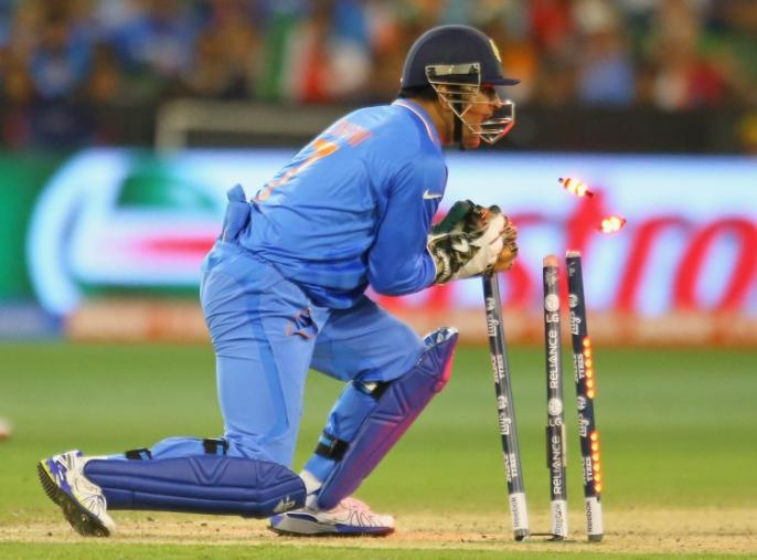 <strong>Will he lift his second WT20 trophy?</strong> Skipper MS Dhoni will shoulder the hopes of more than a billion Indian fans. (Photo Credit: Getty Images)