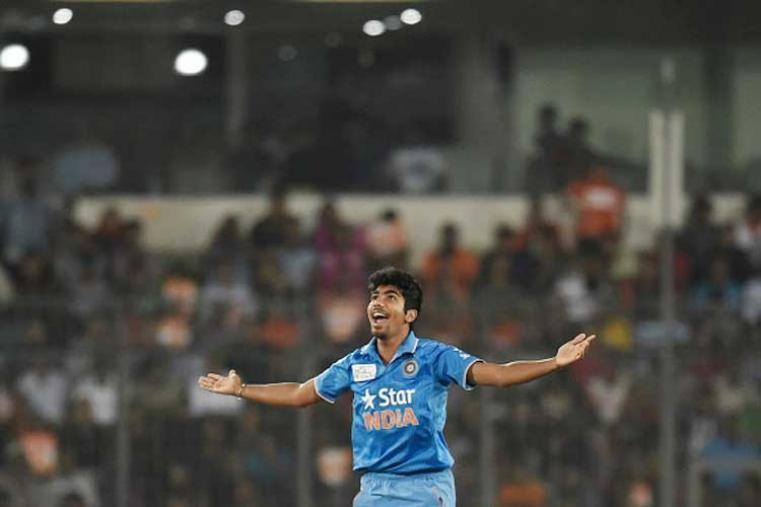 Indian pacers Jasprit Bumrah (1/13) and Ashish Nehra (1/33) made good use of the seam friendly conditions to remove the Bangladesh opener early on. (Getty Images)