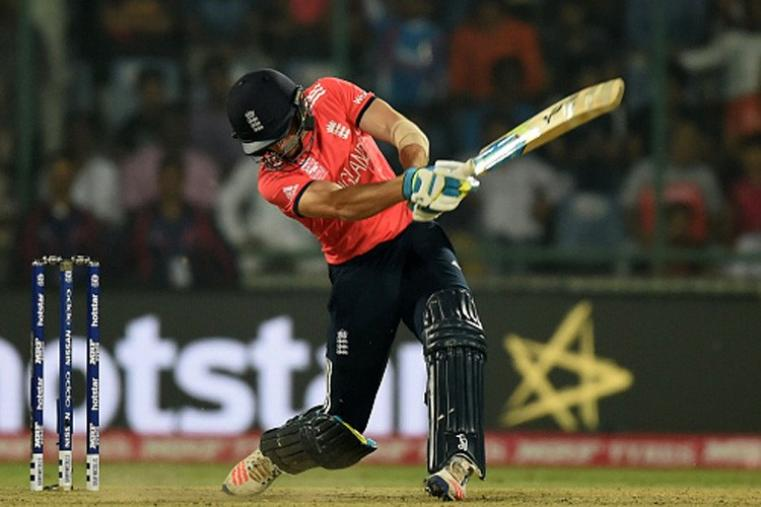 After dismissing Roy and Morgan in quick succession, NZ tried to make a comeback but Jos Buttler's 17-ball 32 helped England secure a seven-wicket win to reach the WT20 final. (Getty Images)