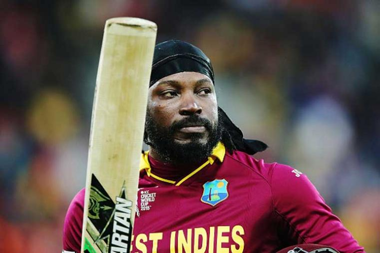 Chris Gayle's 117 against SA in the 2007 WT20 was his maiden century in T20s. His unbeaten 41-ball 75 helped Windies defeat Australia in the  semis of 2012 edition. West Indies won the title that year after defeating Sri Lanka.(Photo Credit: Getty Images)