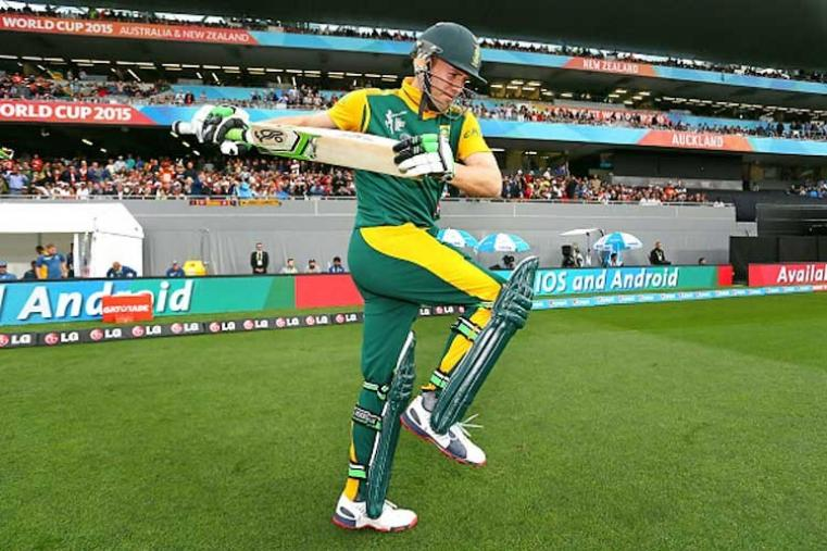 AB de Villiers [South Africa]: The South African 'Superman' is the most fearsome hitter of the ball in present-day cricket and is considered a nightmare for the bowlers. The holder of fastest 50 (16 balls), 100 (31 balls) and 150 (64 balls) in ODI cricket, De Villiers is a destructive batsmen in all formats who is adored in India for his power batting in the IPL. In Johannesburg in February he smashed the fastest T20 fifty by a South African, off just 21 balls. (Getty Images)