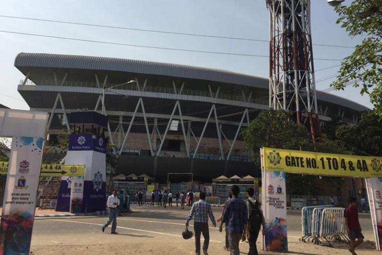 Kolkata's iconic stadium Eden Gardens will be hosting Indo-Pak clash on Saturday.  (CricketNext)