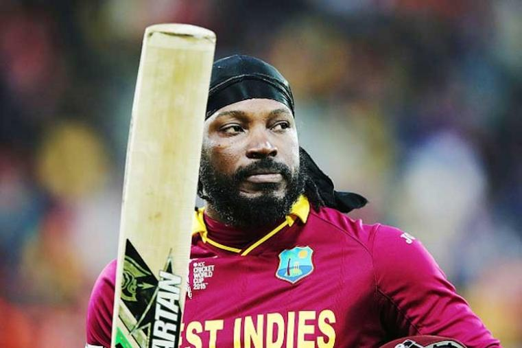 Chris Gayle [West Indies]: The explosive batsman is one of cricket's biggest stars, both on and off the field. The Jamaican smashed 50 off just 12 balls for the Melbourne Renegades in Australia's Big Bash League in January to equal the fastest half-century in T20 history. Gayle was instrumental in taking the West Indies to WT20 title in 2012 and 'the beast', as he is often called by his fans, is the one of the most sought after cricketers in the world. Gayle, 36, holds an amazing record in the shortest format of the game, bettered over the years by his experience in IPL and Big Bash. (Getty Images)