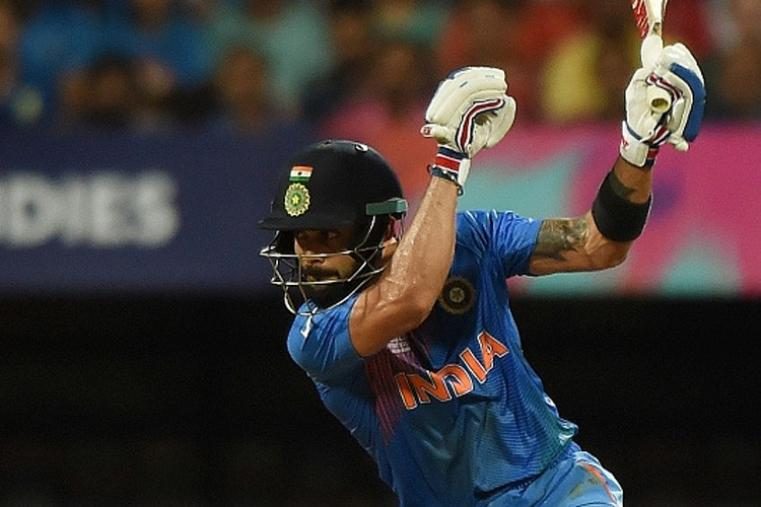 Virat Kohli continues his stunning form and made a brilliant 47-ball 89 and remained unbeaten to take India to 192/2 in 20 overs. (Getty Images)