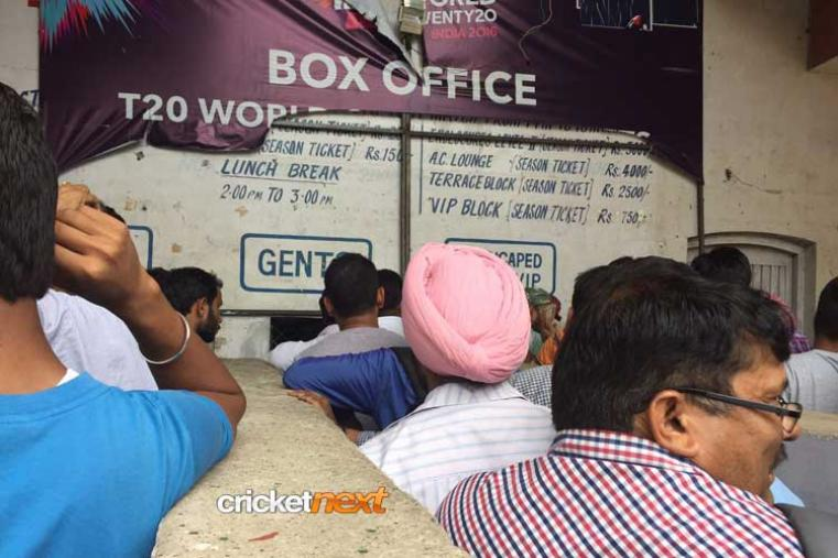 Cricket madness grips Mohali for the do or die   do-or-die clash between cricket's two biggest teams
