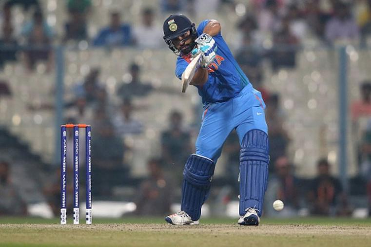 Rohit Sharma played a brilliant knock of unbeaten 98 against West Indies in the warm-up match.