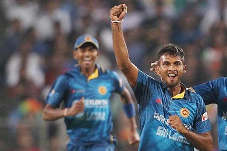 Dasun Shanaka (Sri Lanka): Dasun Shanaka recently broke the record for most sixes hit in a domestic Sri Lankan T20 innings. Shanaka, who made his T20 debut against Pakistan in August last year has played just 8 T20Is so far and is still settling in international format. Shanaka's best came against India at Pune where he claimd a match-winning 3 for 16. (BCCI Images)