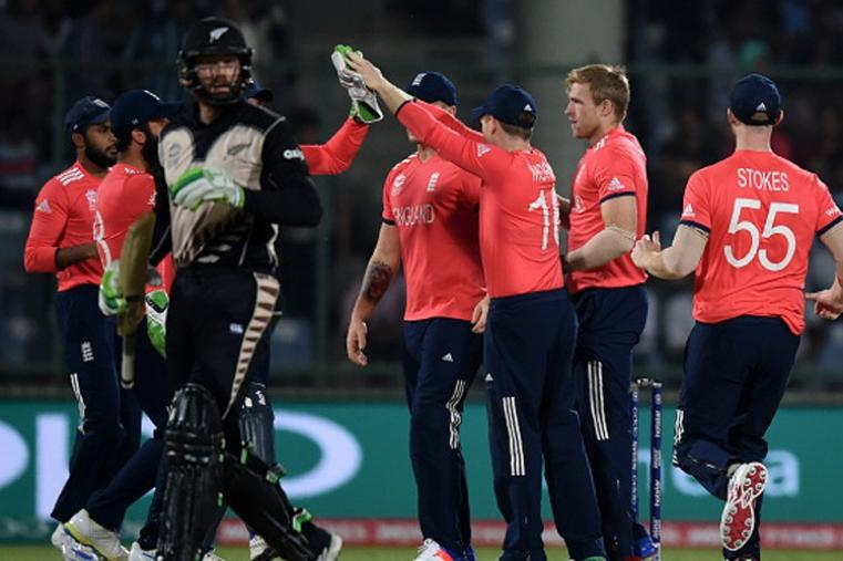 Martin Guptill gave New Zealand a quick start but was caught behind off David Willey for 15. (Getty Images)