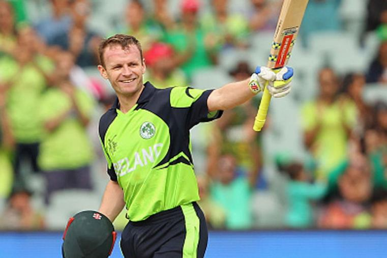 William Porterfield, the Ireland captain, will play his fifth ICC World T20. (Photo Credit: Getty Images)