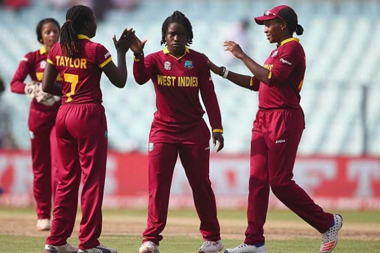Medium-pacer Deandra Dottin was the pick of the Windies bowlers with two wickets. (Getty Images)