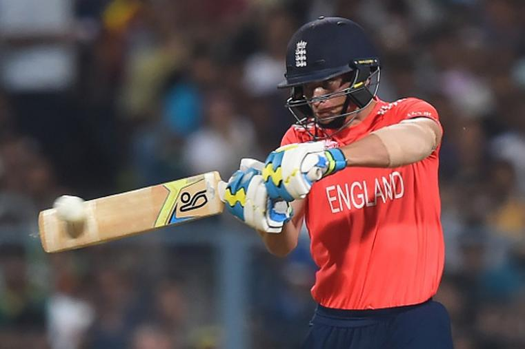 Jos Buttler made 36 off 22 balls and had a solid stand with Root. (Getty Images)