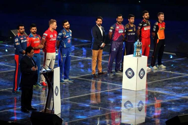 IPL chairman Rajiv Shukla subsequently welcomed all the audience for the ninth edition of the competition. (BCCI)