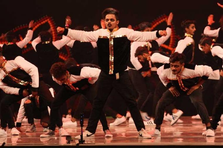 Then came a young and talented Kings United group and the dancers group from Nalasopara here showcased their skills and body flexibility to have the crowd mesmerised. (BCCI)