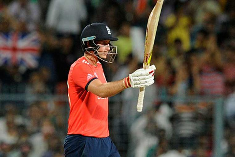A record target of 230 looked insurmountable till England youngster Joe Root wielded his bat to take the wind out of South Africa's sail. His 44-ball 83, decorated with six boundaries and four sixes, turned the match on its head and guided the team to two-wicket thrilling win with two balls to spare.  (Photo Credit: Getty Images)