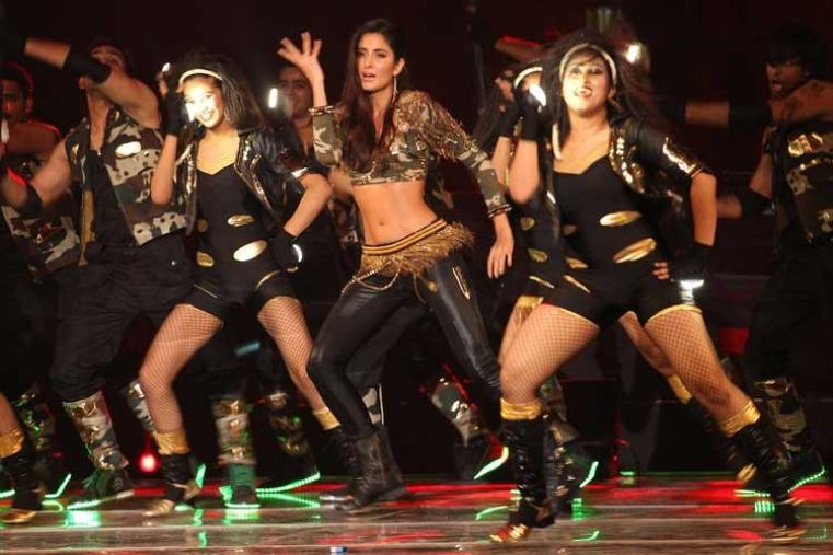 Bollywood actress Katrina Kaif danced to the tunes of her famous numbers