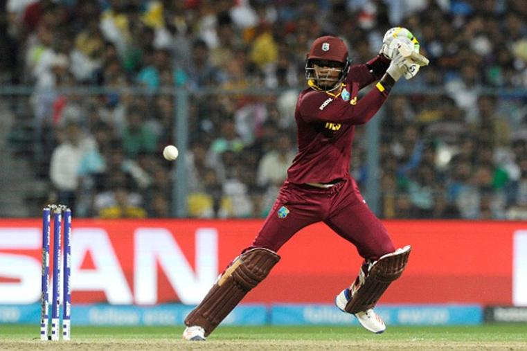 Marlon Samuels scored a match-winning knock of 85 runs off 66 balls with nine fours and two sixes. (Getty Images)