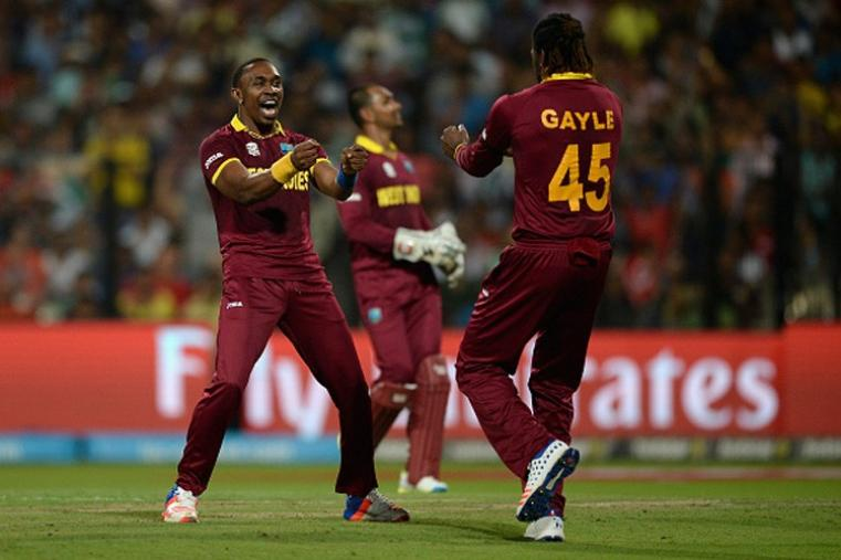 Dwayne Bravo picked up three wickets in his quota of four overs to derail the Caribbean innings. (Getty Images)